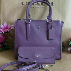 NWT Coach purse bag crossbody w/ wallet